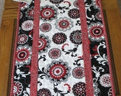 Floral Table Runner fabric from Red Rooster Carnival line
