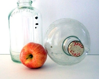 Old Glass Jugs For Decor or Collection