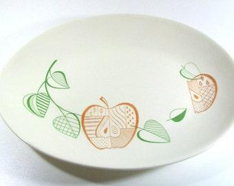 Forbidden Fruit Georges Briard Mid-Century Platter
