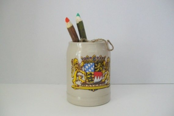 Bayern 0.5L Coat of Arms Germany Stoneware Stein
