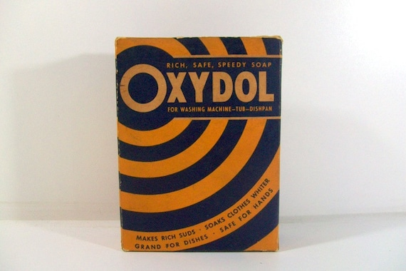 Vintage Advertising Oxydol Soap