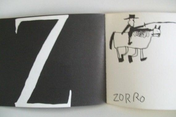 Alphabet Book - Vintage 1969