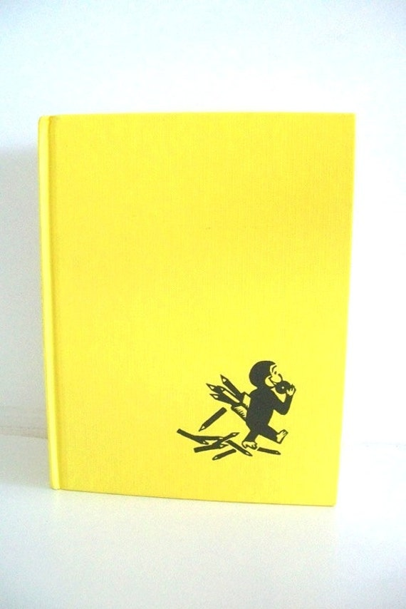Curious George Learns The Alphabet 1963 Children's Book
