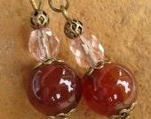Agate Onyx Earrings Clearance SALE