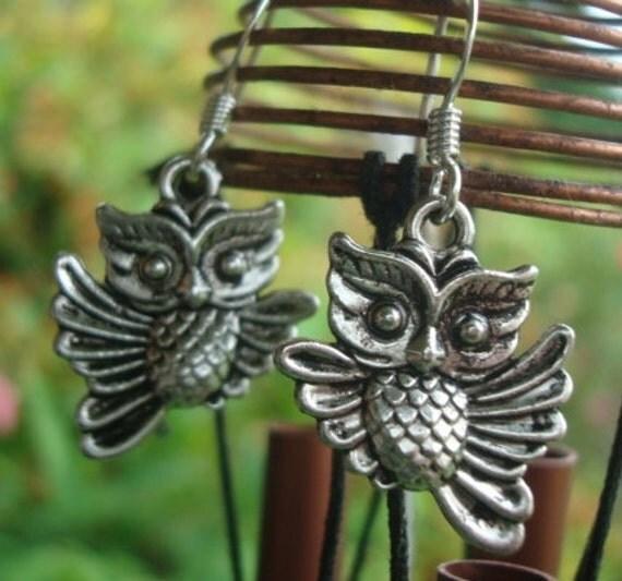 Little Owl Earrings SALE