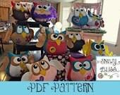 Hooo-Ray Owl Pattern