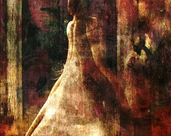 Who Paints Reality -  8 x 10 Limited Edition Victorian Collage Photgraphy - Fine Art Print by My Antarctica