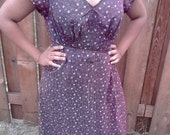 RARE CHEERIES AND STRIPE PLUS SIZE DRESS Free Gift with purchase