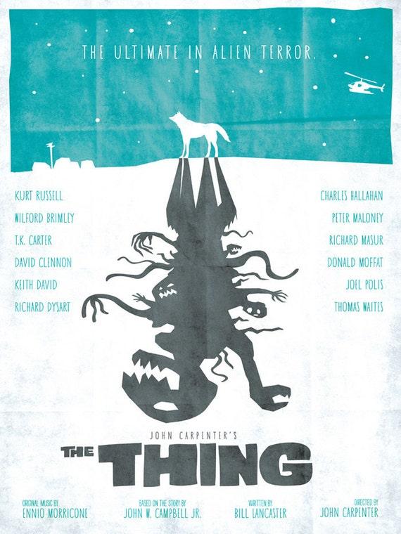 The Thing - 12x16 Print