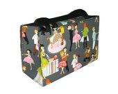 SALE.. Retro Prom Night Fabric Handbag
