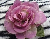 Rockabilly Mauve Country Pin Up Rose