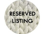Reserved listing for Joni