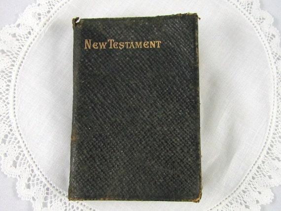 Antique Pocket Bible 1911 New Testament