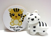 Chinese Zodiac - Year of the Tiger - Wood Magnet