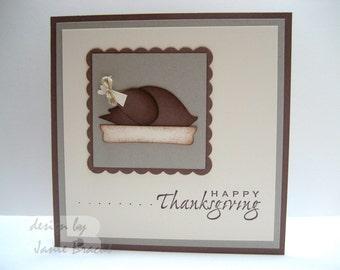 Turkey - Happy Thanksgiving - Greeting Card