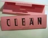 Quick Flick, Clean / Dirty Dishwasher Sign in PINK