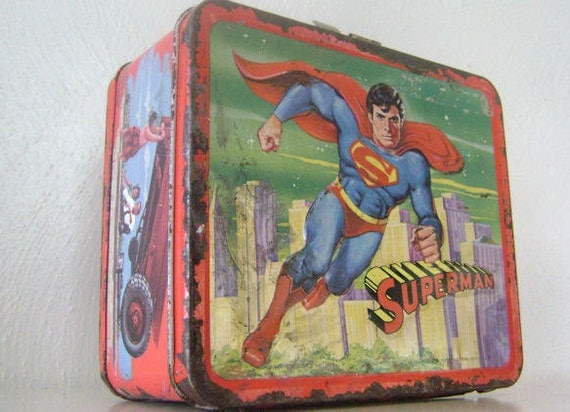 Vintage Superman 1978 Lunch Box Aladdin