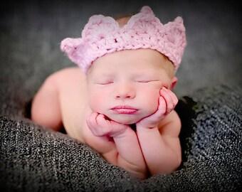 Newborn Baby Girl Photo Prop Crown