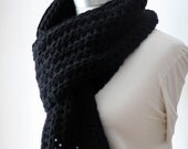 The Simple Series: The Black Traditional Scarf