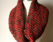 """The """"Mini"""" Holiday Greetings Infinity Scarf"""