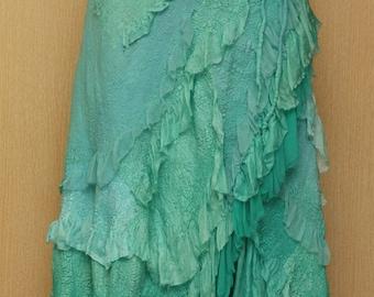 A Spoondrift Birth / Nuno-Felted Clothing / Skirt