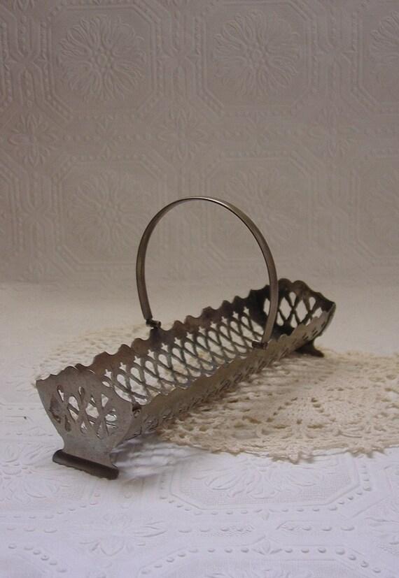 Silverplate Cracker Basket