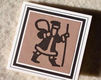 SANTA GIFT CARD set of 3