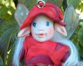 OOAK Polymer Clay Fantasy Fae (Fairy) Art