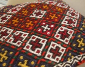 FREE SHIPPING  -   Anatolian  Antique  Rug Pillow Cover (kilim)