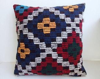 Anatolian turkish  Rug Pillow Cover (kilim)