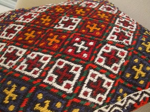 FREE SHIPPING  -   Anatolian  Antique  Rug Pillow Cover (kilim)