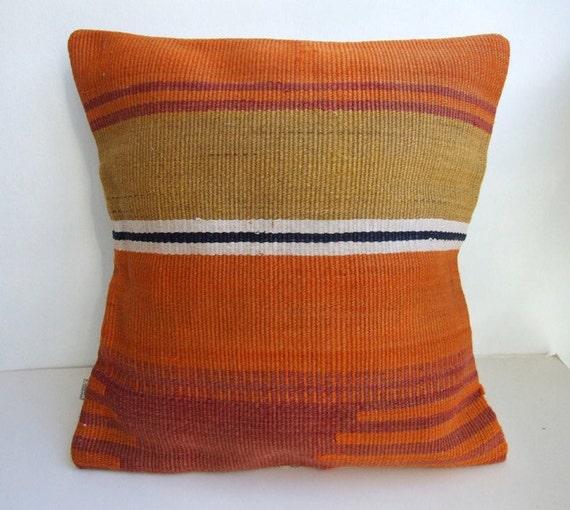 Vintage Kilim Pillow Cover