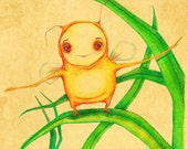 A sunshine bug  5.5 in x 6 in