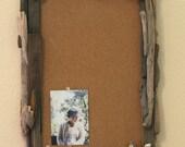 "Driftwood Framed Bulletin Board -  19"" x 13"""