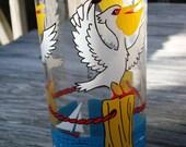 H.J. Stotter Painted Pelican Tumbler