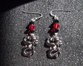 Dragon's Fire: Earrings (Free Shipping)