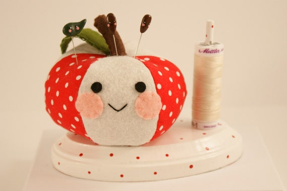Apple Dumplin' Pincushion