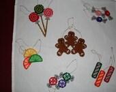 Sugarplum Christmas Ornament Set