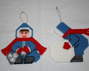 Snow Sweetheart Ornaments