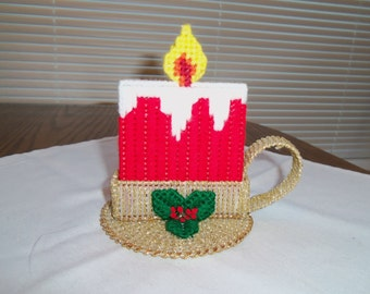 Christmas Candle Coaster Set