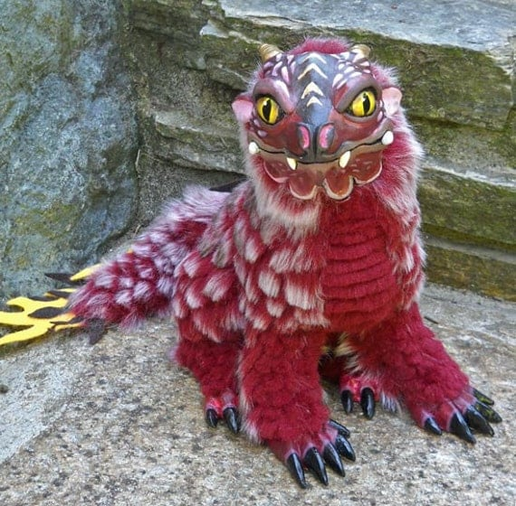 Red Scaley Dragon