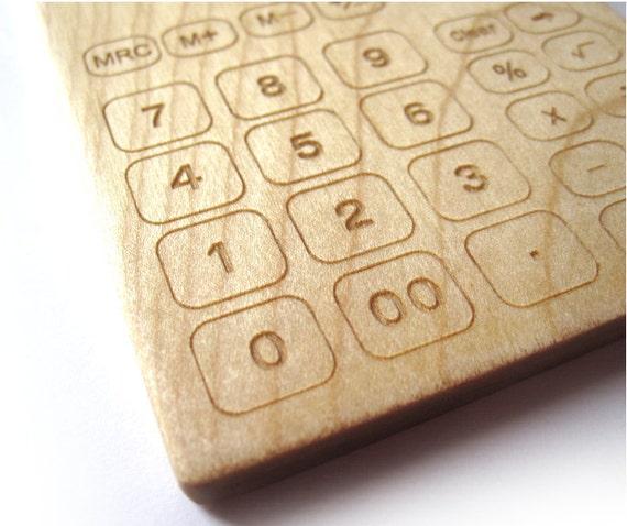 Calculator teether