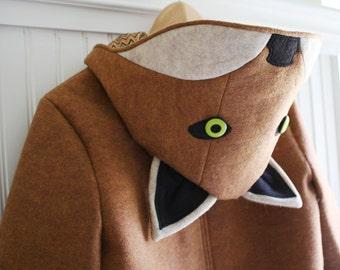 Ms. Fox: Adult Ladies Fox Coat