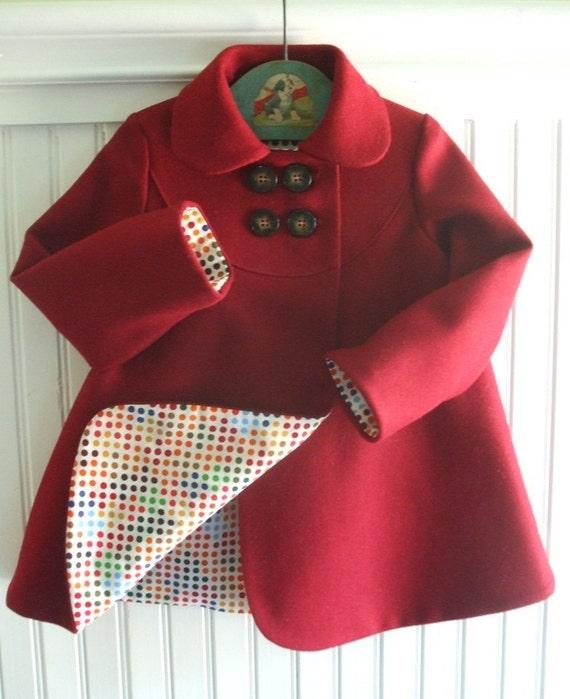 Winter Cardinal Coat