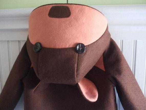 Girls Teddy Bear Coat in Pink