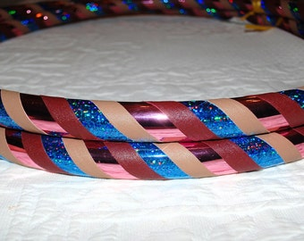 NEW: Winter Sunset Custom Hula Hoop - Collapsible or Standard - ANY Size