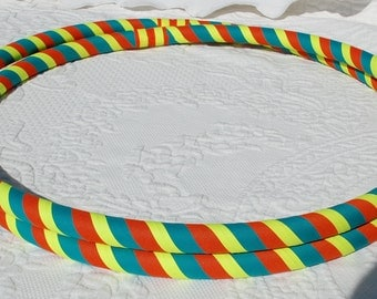 Design Your Own 3 color ALL GRIP Hula Hoop -Any size- Collapsible or Standard - LARGEST Color Selection on Etsy