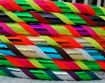 Design Your Own 4 Color Custom Hula Hoop - Collapsible or Standard - ANY Size Hoola Hoop