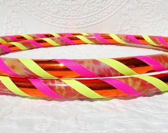 Tie Dye Sunshine Custom Hula Hoop - Collapsible or Standard - ANY Size Hoola Hoop