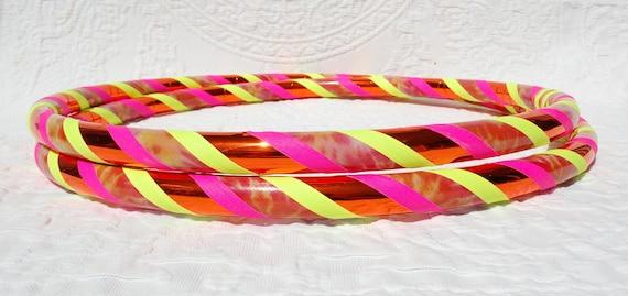 Tie Dye Sunshine Custom Hula Hoop - Collapsible or Standard - ANY Size Hoola Hoop